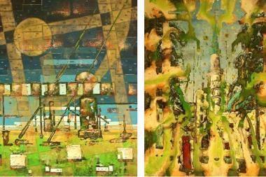 Klaipėdos Rūtų galerijoje – nauji D.Andriulionio paveikslai