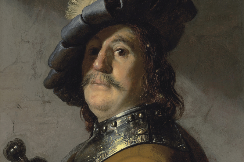 Patvirtinta: paveikslo autorius – Rembrantas