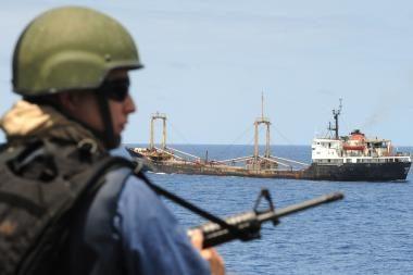 ES pradeda misiją prieš piratus