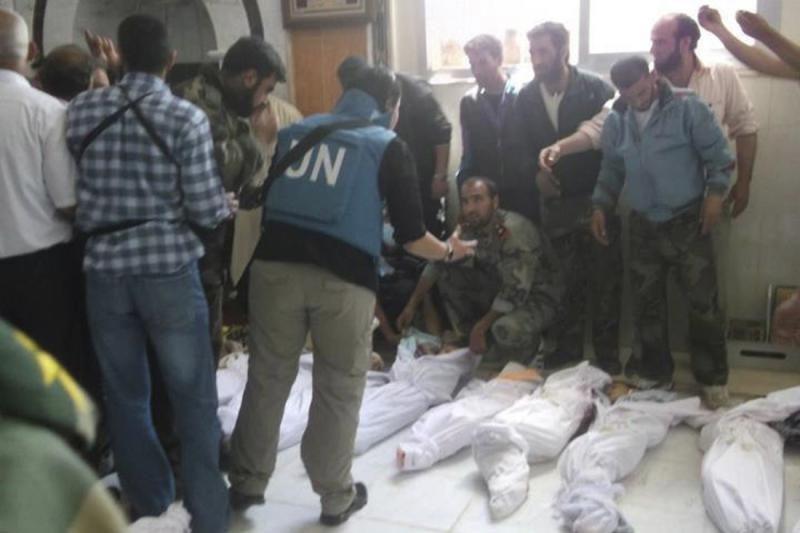 Dėl žudynių JAV išsiuntė Sirijos diplomatą, Rusija reikalauja tyrimo