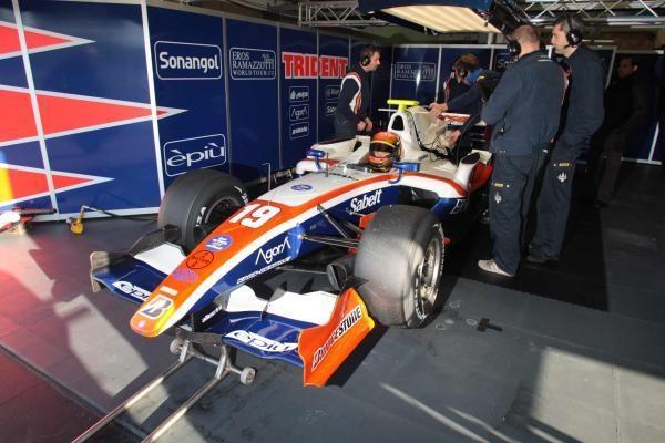 K.Vasiliauskas: ketvirtadienis GP2 bandymuose