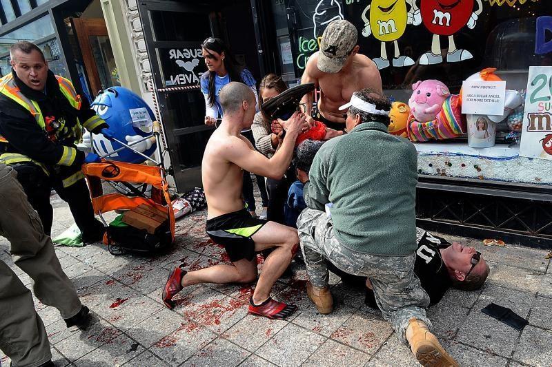 Sulaikyti dar trys įtariamieji dėl sprogimų per Bostono maratoną