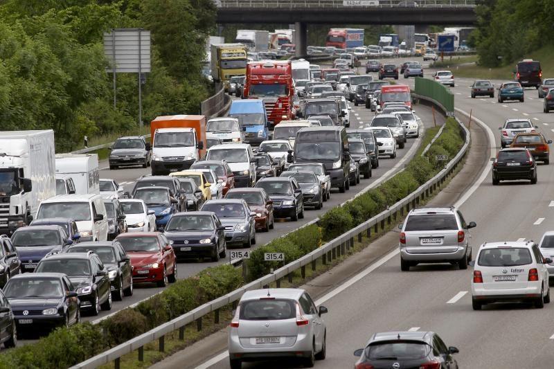 Automobilių spūstys Britanijoje – vienos baisiausių Europoje