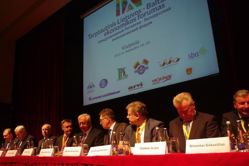 Lietuvos ir Baltarusijos premjerai tarėsi dėl palankesnio verslo