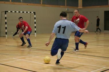 Klaipėdos salės futbolo čempionate – dvi lygos