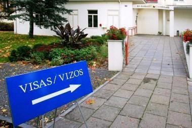 Vilniuje - istorinis parašas dėl bevizio režimo su JAV