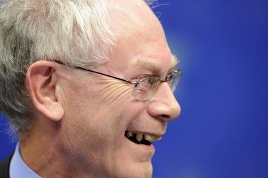 Europos Sąjungos pirmasis prezidentas -  Hermanas Van Rompuy
