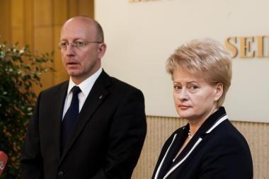 Politikai, išskyrus A.Valinską, diplomatiškai vertina Prezidentės pranešimą