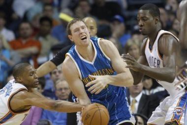 """Hornets"" vėl pralaimėjo, D.Songaila pelnė trylika taškų"