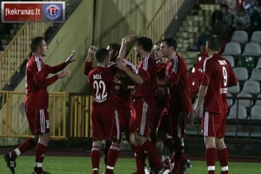 "Lietuvos futbolo A lygos čempionate suklupo ""Vėtra"""