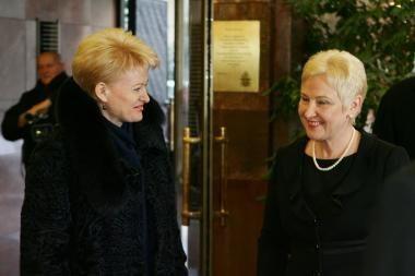 Lietuvos gyventojai geriausiai vertina prezidentės ir Seimo pirmininkės darbą