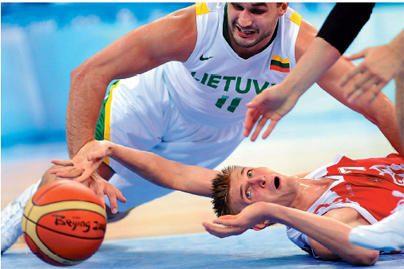 Lietuvos rinktinė nukrito FIBA reitinge