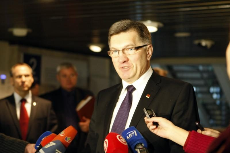"A. Butkevičius: su ""Gazprom"