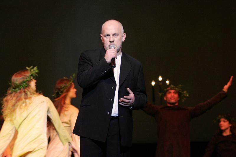 Dėl ligos atšauktas Ovidijaus Vyšniausko koncertas Klaipėdoje