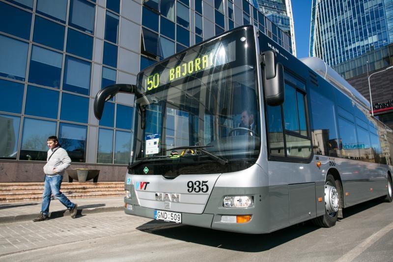 Sostinės valdžia pakoregavo viešojo transporto maršrutus