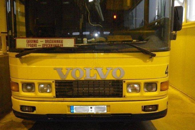 Dėl vairuotojo gabentų cigarečių gali būti konfiskuotas autobusas