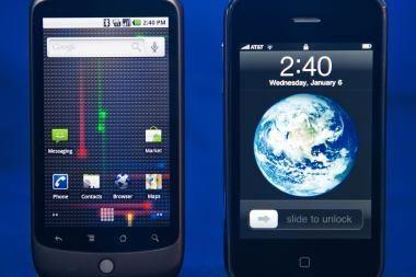 """""""Google"""" pradėjo pardavinėti """"Nexus One"""""""