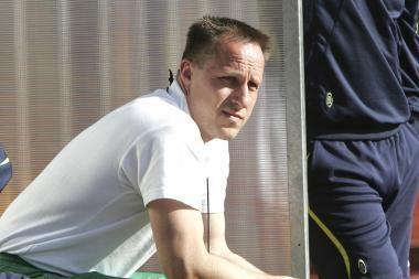 R.Žutautas paskelbė futbolininkų sąrašą rungtynėms su pasaulio čempionais