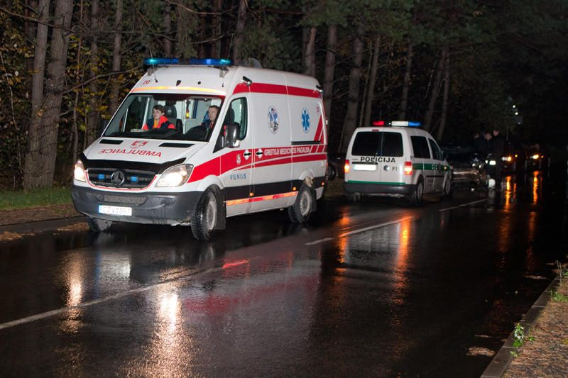 Vilniuje susidūrus dviem automobiliams nukentėjo mažametis