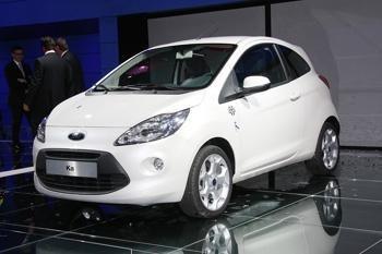 """Debiutuoja """"Ford Ka"""