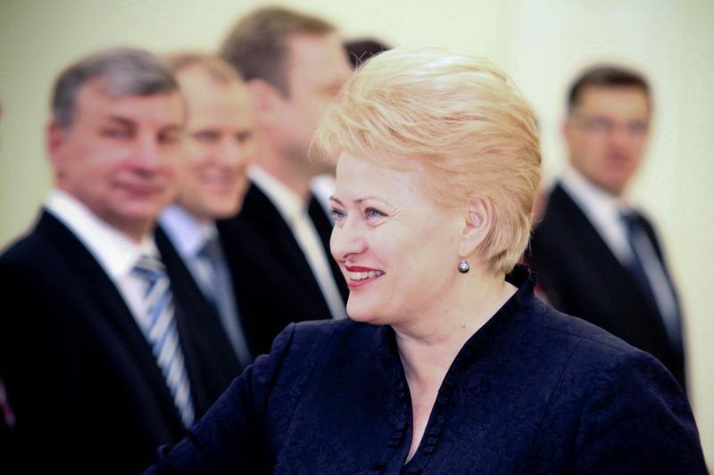 D. Grybauskaitė kalbų apie Ūkio banką nesureikšmina