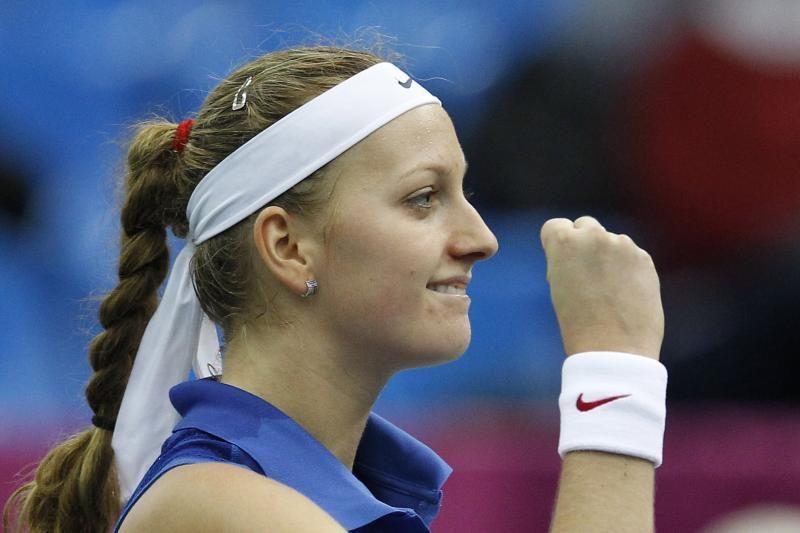 Tenisininkė P.Kvitova - Čekijos metų sportininkė