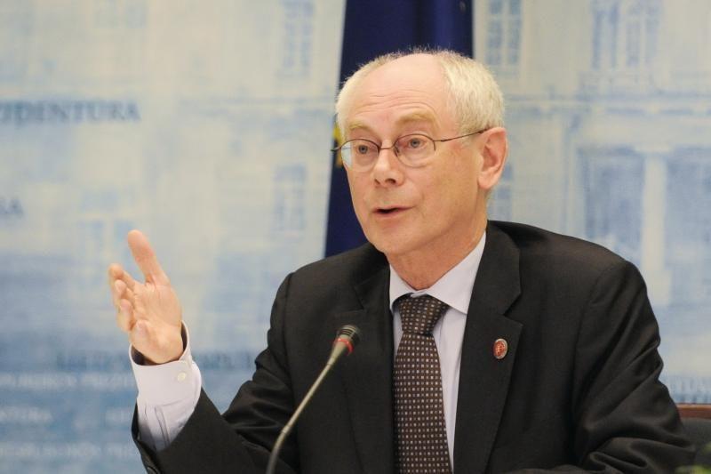 H.Van Rompuy teigia, jog jam neaiški kuriamos Eurazijos sąjungos esmė