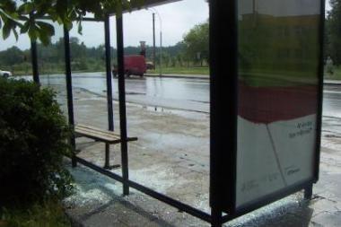 Viešojo transporto stotelės nepritaikytos žiemai