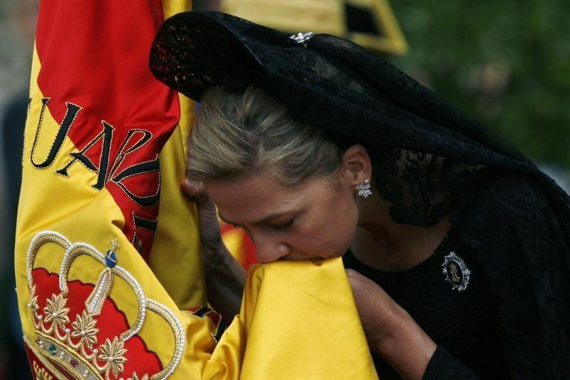 Ispanijos princesė Kristina - įtariamoji korupcijos byloje