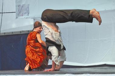 Šiuolaikinio šokio savaitgalis sostinėje