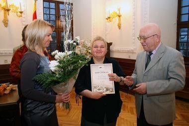 Įteiktos Kauno meno kūrėjų asociacijos premijos
