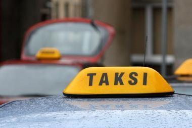 Klaipėdoje sulaikytas girtas taksistas be vairuotojo pažymėjimo