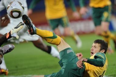 Pasaulio futbolo čempionatas: Gana - Australija 1:1