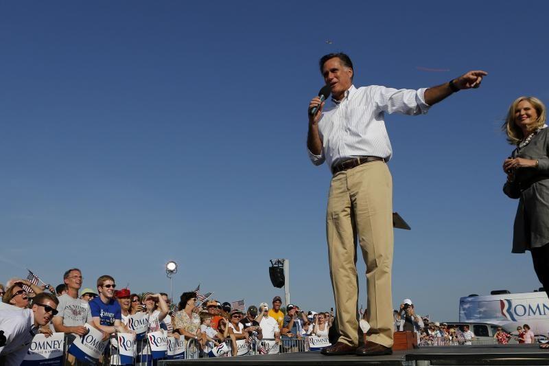 M.Romney sūnūs ragina tėvą nesivaržyti prezidento rinkimuose