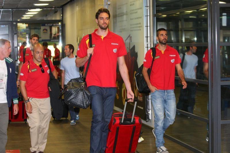 Atskrido Europos krepšinio čempionai