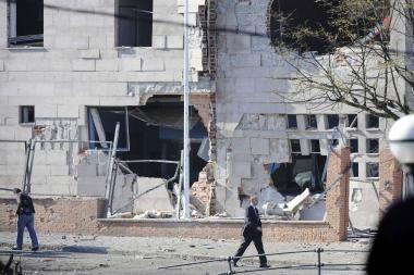 Per sprogimus Ispanijos baskų regione yra sužeistų