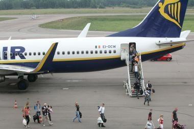 """""""Ryanair"""" į Londoną skraidins dažniau"""