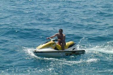 Pramogautojas į jūrą išplaukė nepranešęs pasieniečiams