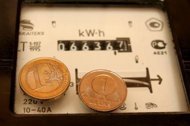 Elektros kaina nuo liepos nesikeis