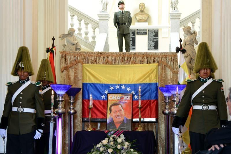 Venesueloje pradėtas atsisveikinimas su H. Chavezu