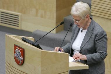 I.Degutienė su darbo vizitu vyksta į Latviją