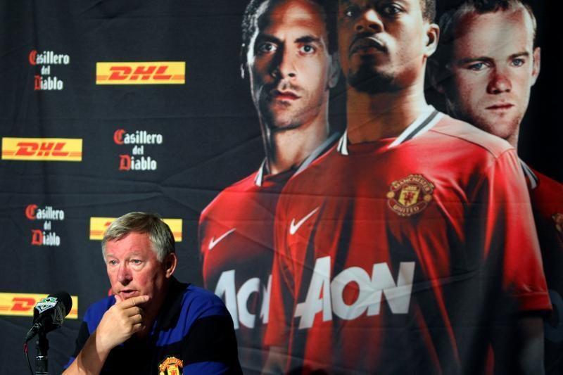 """Sensacija Anglijoje: """"Manchester United"""