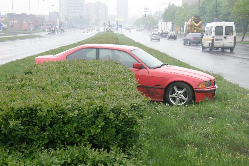 BMW vairuotojai: vienas įlėkė į krūmus, kitas buvo neblaivus