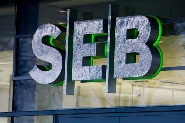 SEB banko grupės nuostoliai pirmąjį ketvirtį - 80,3 mln. litų