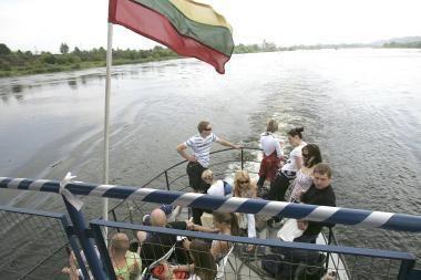Kviečiame į pirmąją kelionę laivu iki Kulautuvos
