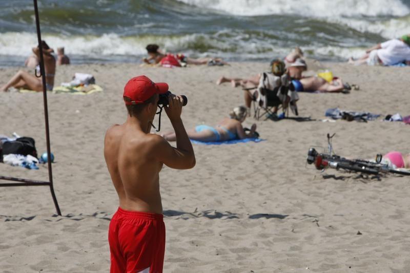 Klaipėdos paplūdimyje buvo pasiklydusi dešimtmetė