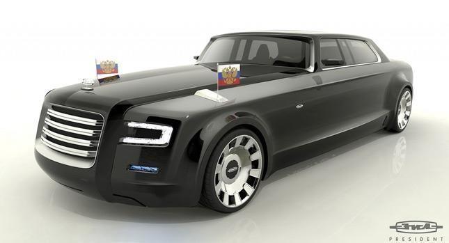 Kaip atrodys rusų kuriamas prezidento V.Putino super limuzinas? (foto)