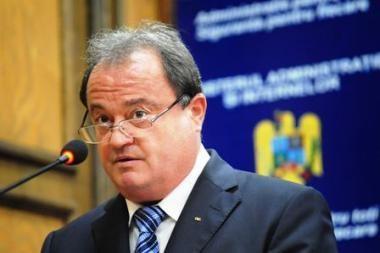 Rumunijoje po policininkų protesto akcijos atsistatydino vidaus reikalų ministras
