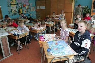 Situacija mokyklose: vaikų skaičius išlieka stabilus