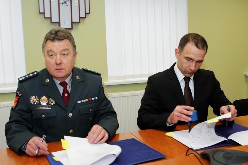 """""""Klaipėdos nafta"""" parėmė uostamiesčio policiją"""